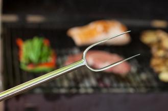 fourche a viande (détail)