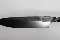 Couteau Intégral acier 52100 (détail)